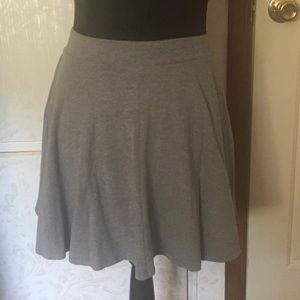 SO Grey/Gray Skater Skirt